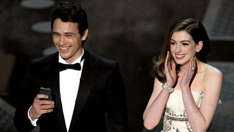 James Franco Anne Hathaway Oscar 2011
