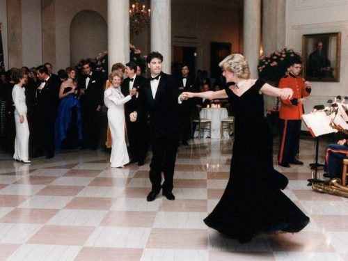 John Travolta Lady Di Casa Blanca