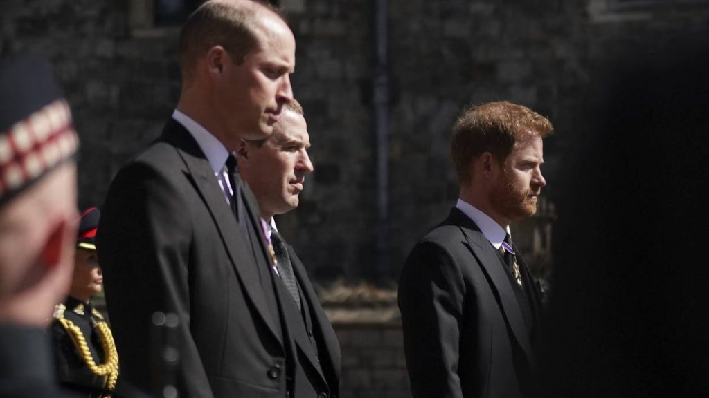 Príncipe Harry Y William Funeral Abuelo