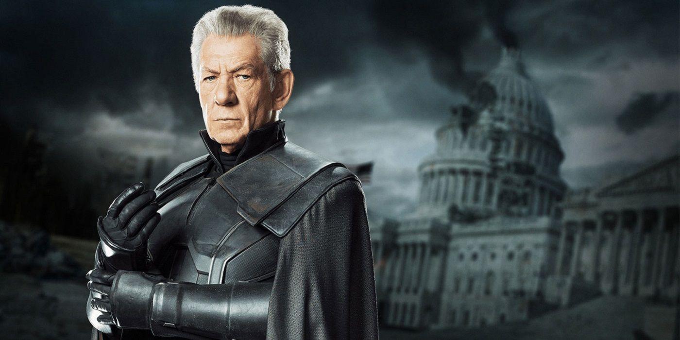 Sir Ian McKellen As Magneto In X Men Days Of Future Past