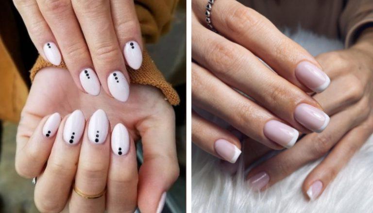 Manicure Blanca