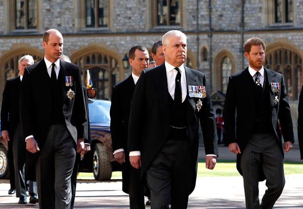 Procesión Funeral Duque De Edimburgo