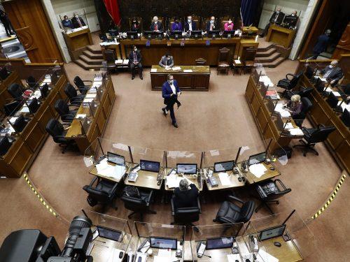 sesion senado por tercer retiro