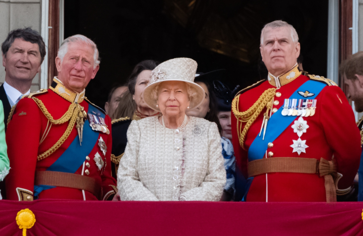 Troopingo Of The Colour