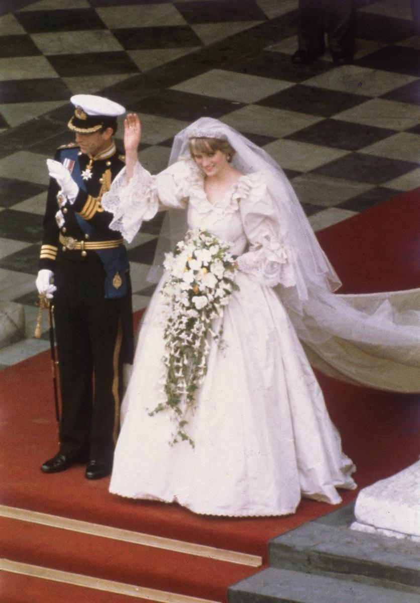 princesa diana y el principe carlos