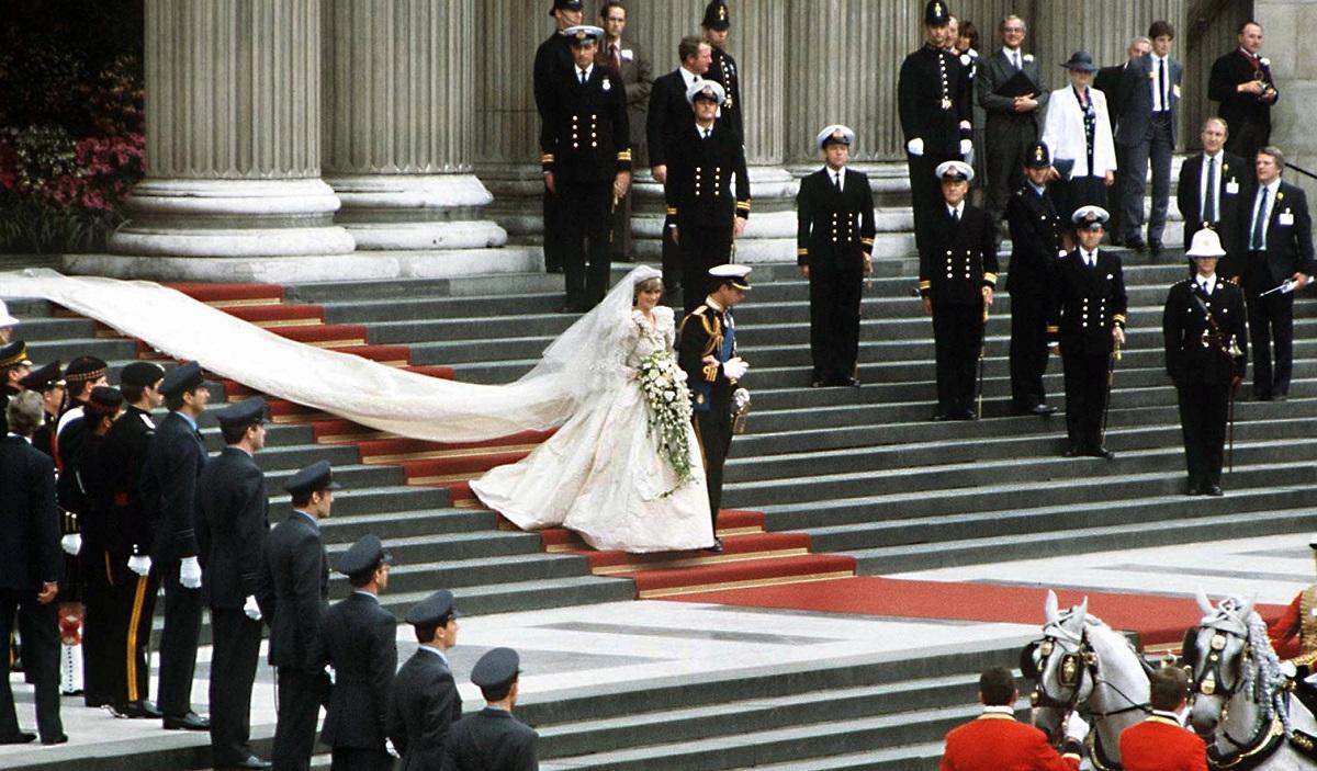 vestido de novia de diana de gales