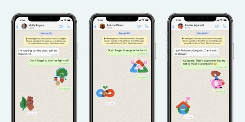 Whatsapp Stickers Dia De La Tierra