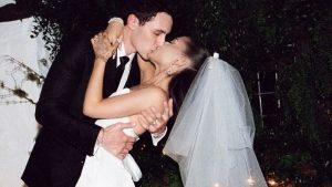 Ariana Grande Comparte Las Fotos Oficiales De Su Matrimonio