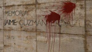 Daños Al Monumento De Jaime Guzmán