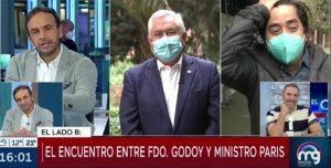 Fernando Godoy Y Ministro Paris