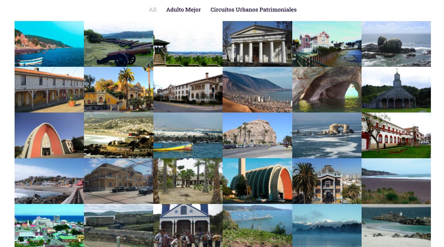 Las Rutas Patrimoniales Disponibles