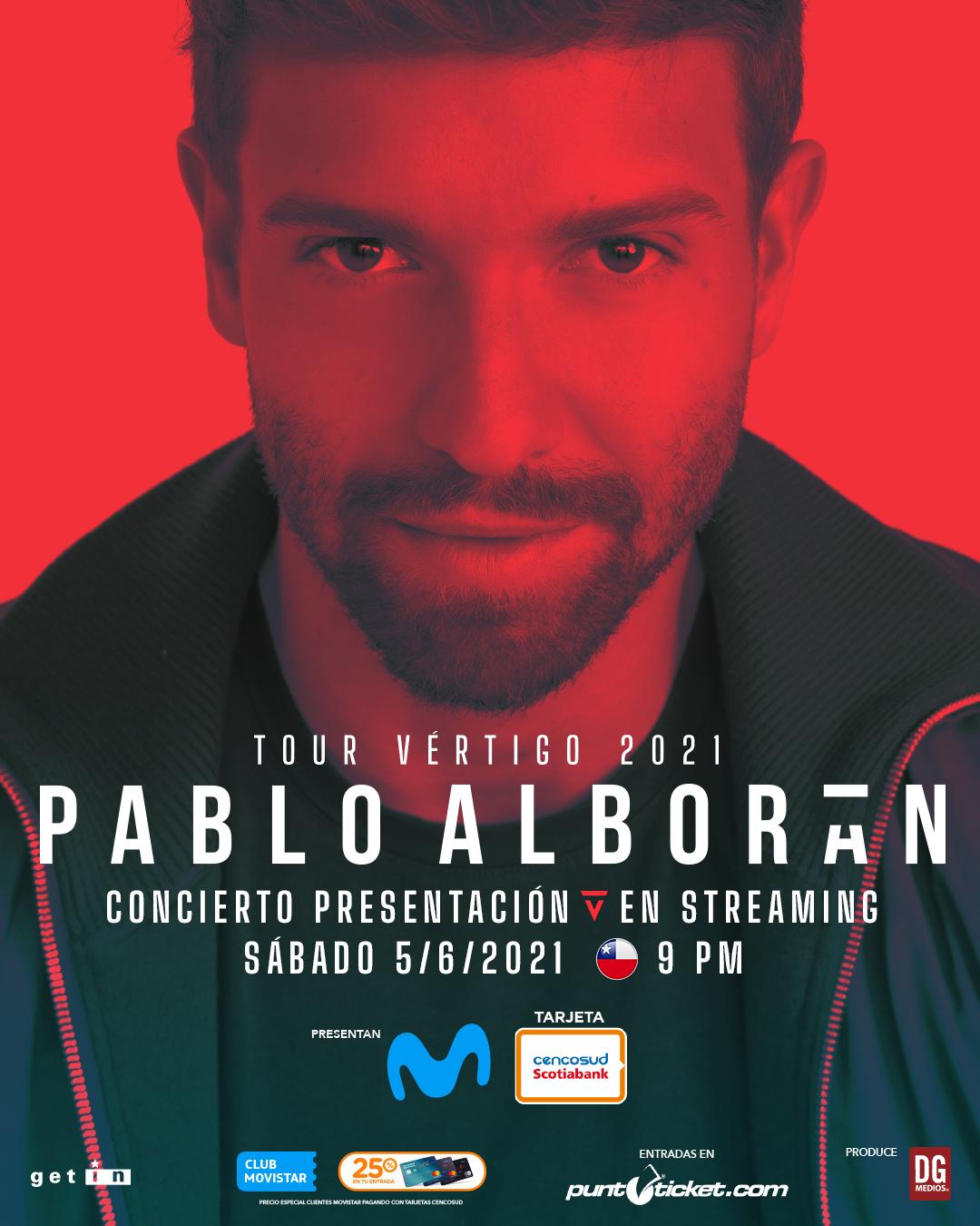 Pablo Alboran En Concierto