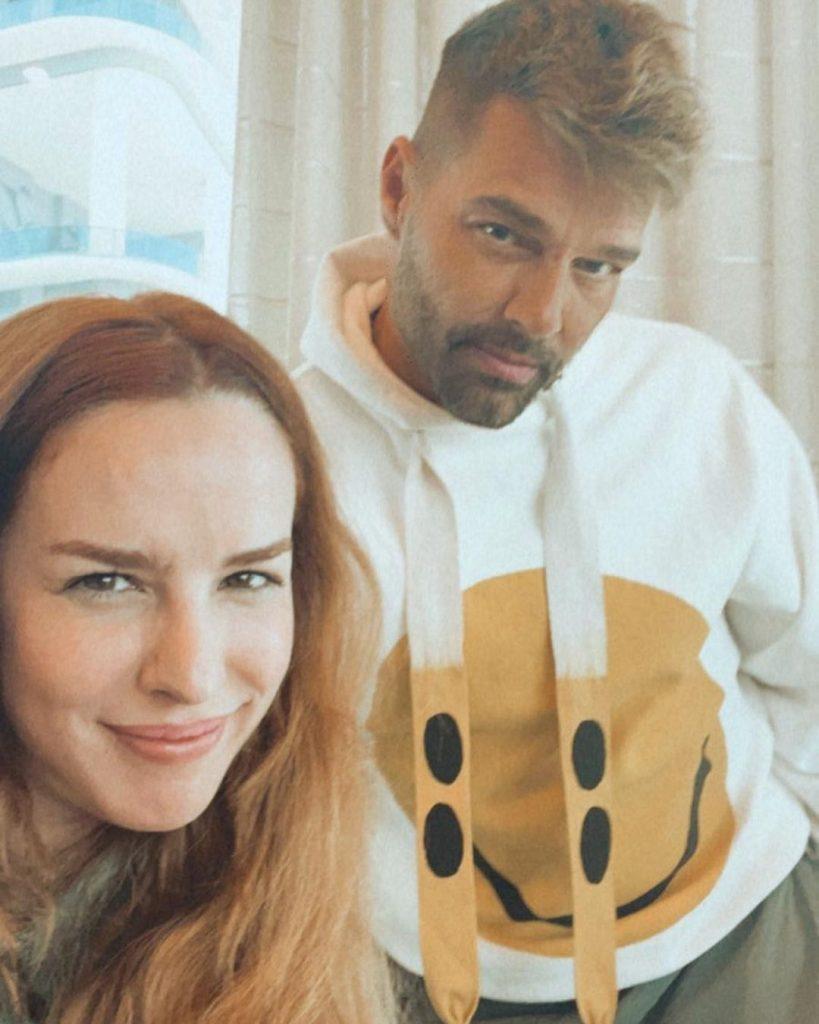 Ricky Martin Y Eglantina Zingg