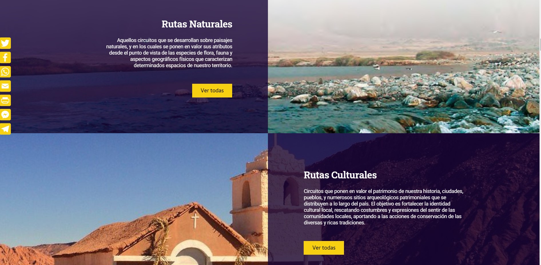 Rutas Patrimoniales De Chile