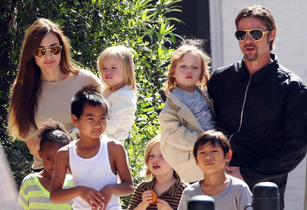 Brad Pitt Y Angelina Jolie Hijos