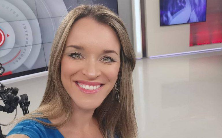 la periodista reveló el sexo y nombre de su bebé