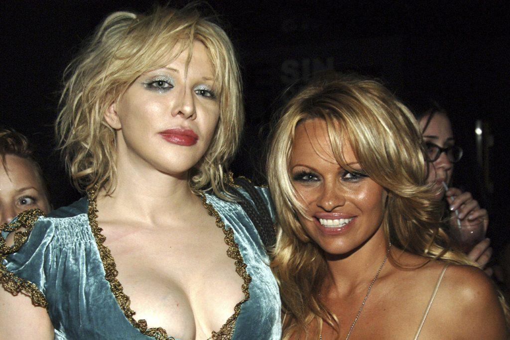 Courtney Love Y Pamela Anderson