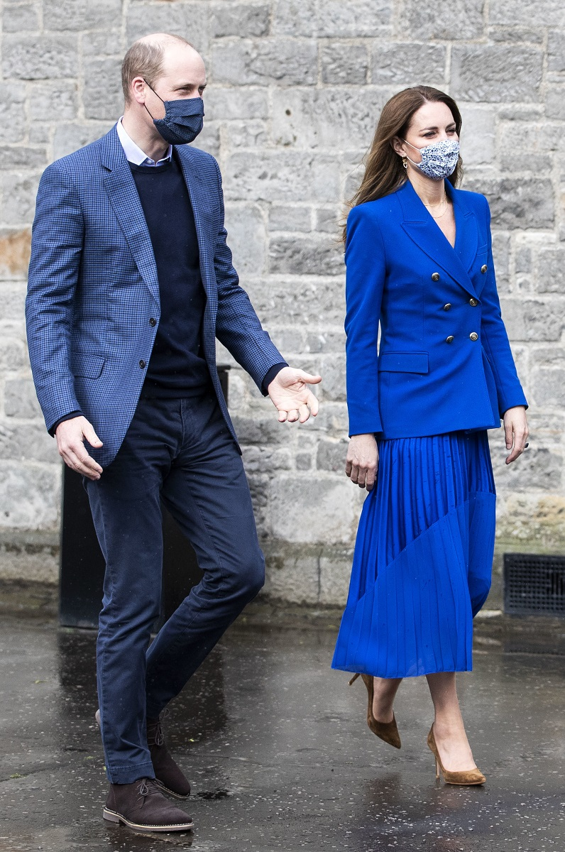 El look de Kate Middleton que hace guiño a Lady Di