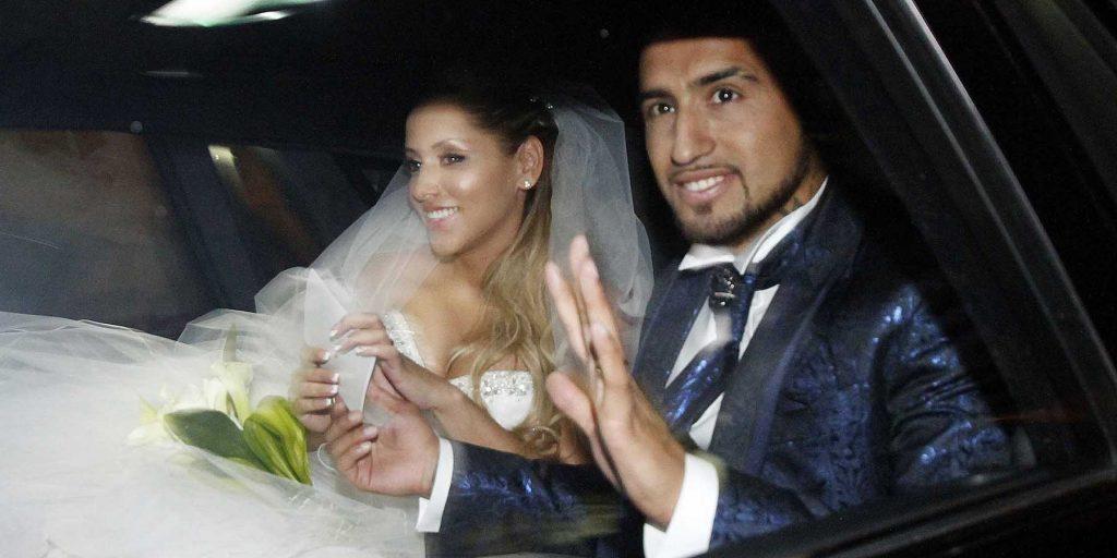 Matrimonio Arturo Vidal