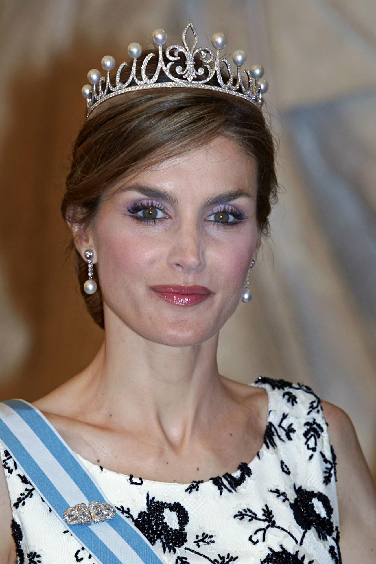 Reina Letizia Con Ansorena