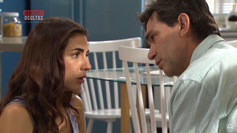Olivia y Ricardo en Verdades Ocultas