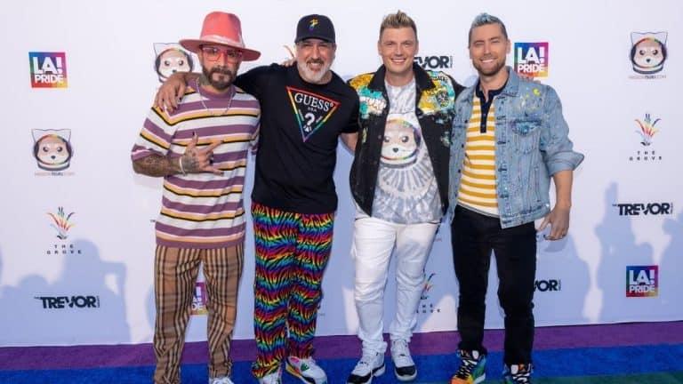 Backstreet Boys Y NYSNC Juntos
