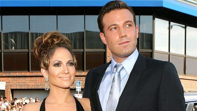 Ben Affleck Y Jennifer Lopez Besándose