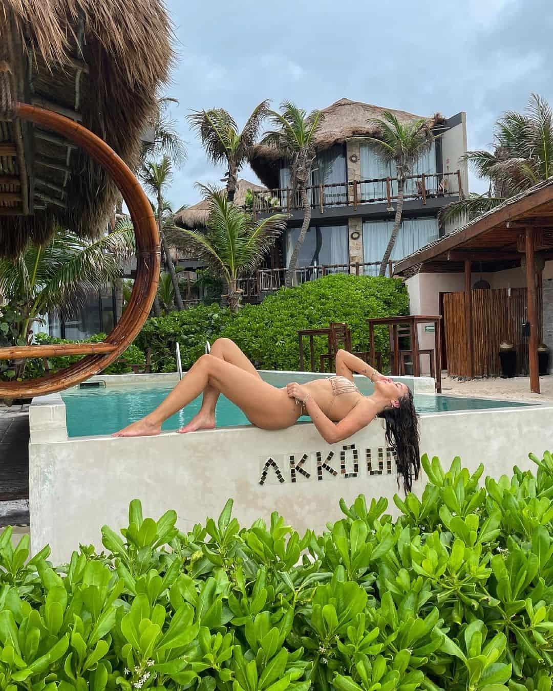 Catalina Vallejos En Bikini Tulum