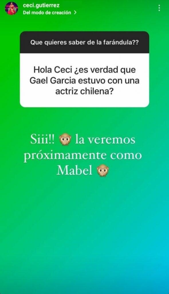 Cecilia Gutierrez Asegura Que Gael Garcia Bernal Tuvo Una Relacion Con Paloma Moreno