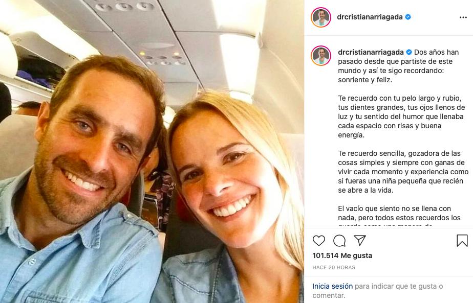 Cristian Arriagada Y Javiera Suarez