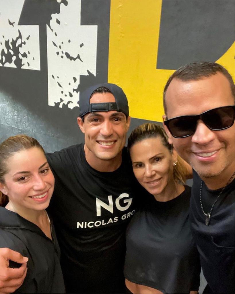 Cynthia Scurtis Y Alex Rodriguez