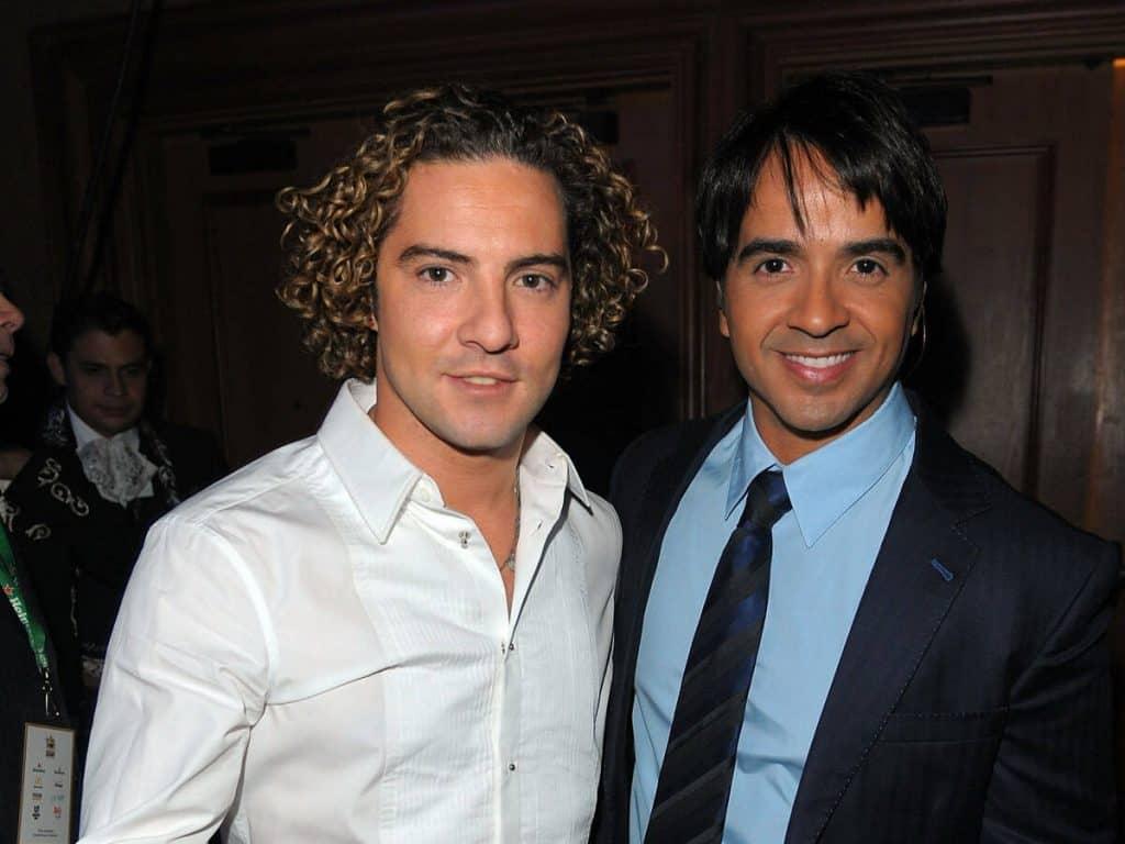 David Bisbal Y Luis Fonsi