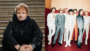 Ed Sheeran Revelo Colaboracion Con BTS