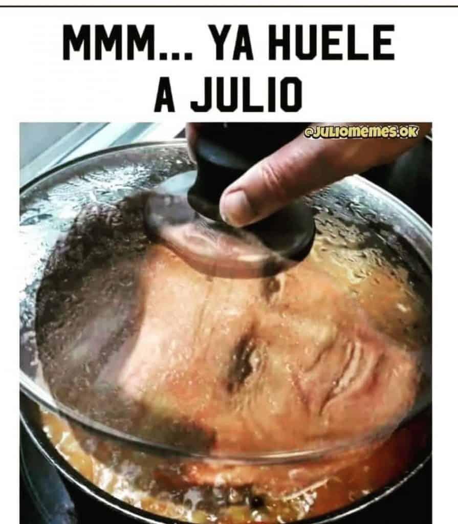Ja Huele A Julio Meme