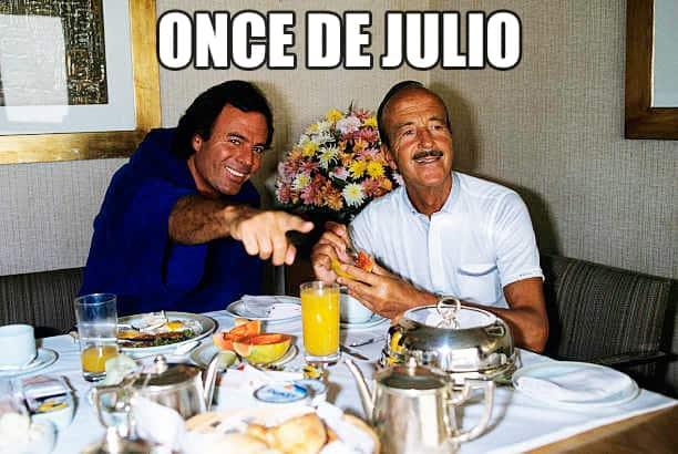 Once De Julio