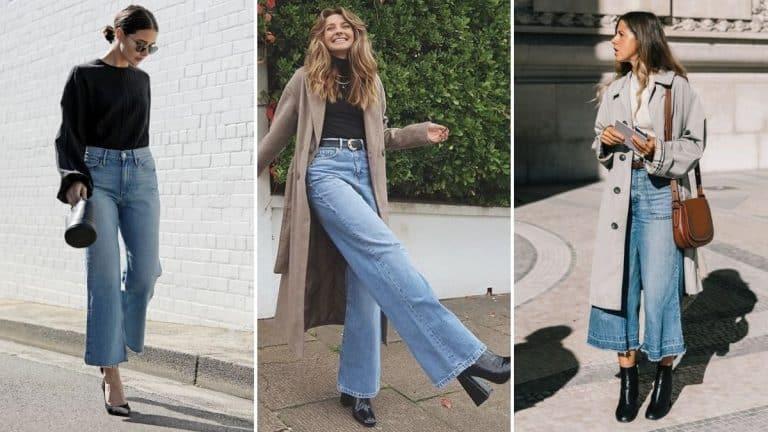 Wide Leg Jeans  Así Puedes Llevar Los Pantalones En Tendencia