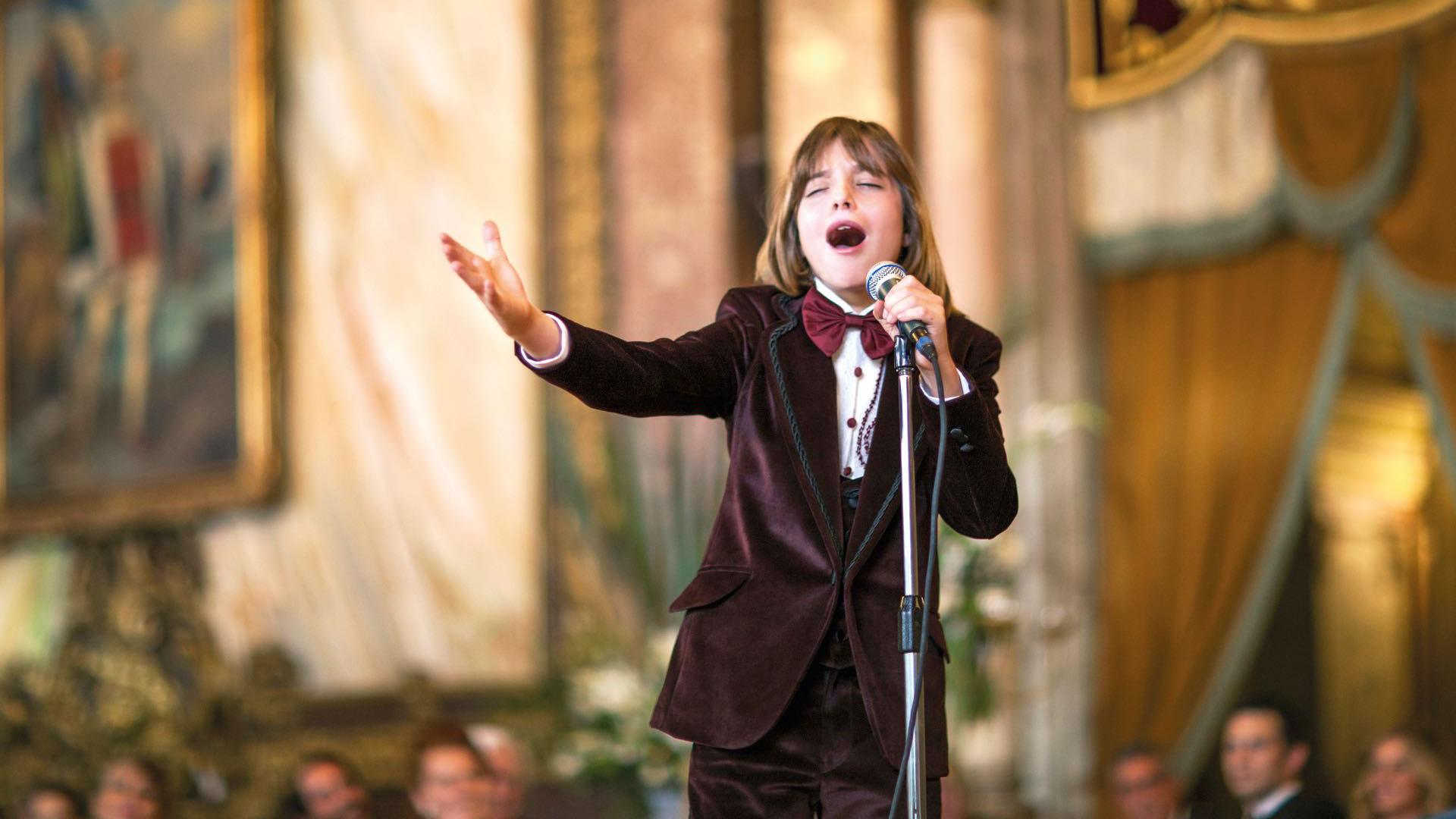 cantando en la serie