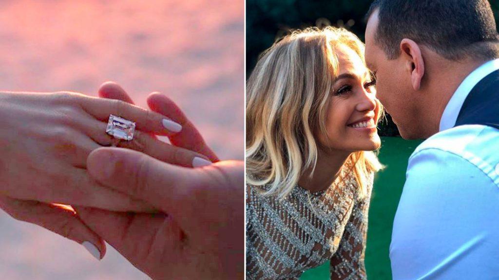 Anillo De Compromiso De Jennifer Lopez Y Alex Rodriguez
