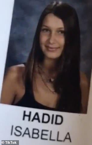 Anuario De Bella Hadid