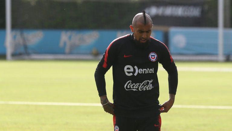 Arturo Vidal Enfrenta Sumario