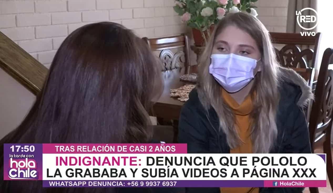 Captura Del Testimonio De La Victima Del Hombre Que Subio Videos Intimos