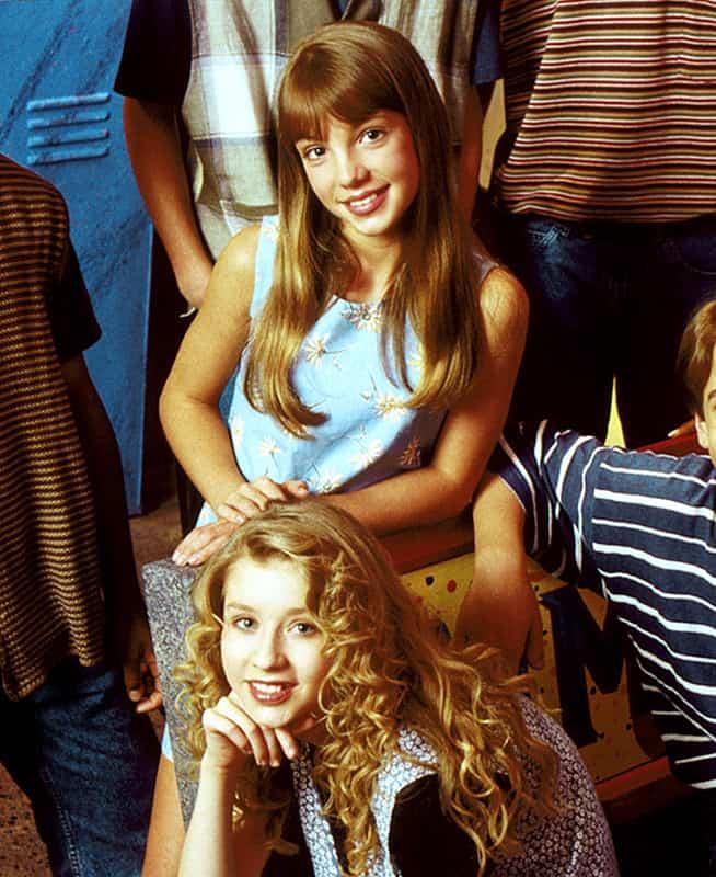 Christina Aguilera Y Britney Spears Pequeñas
