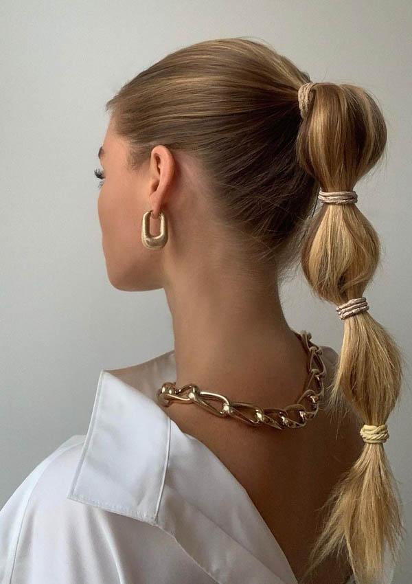 Coleta peinados