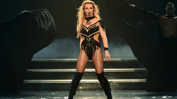 Concierto Britney Spears Enferma