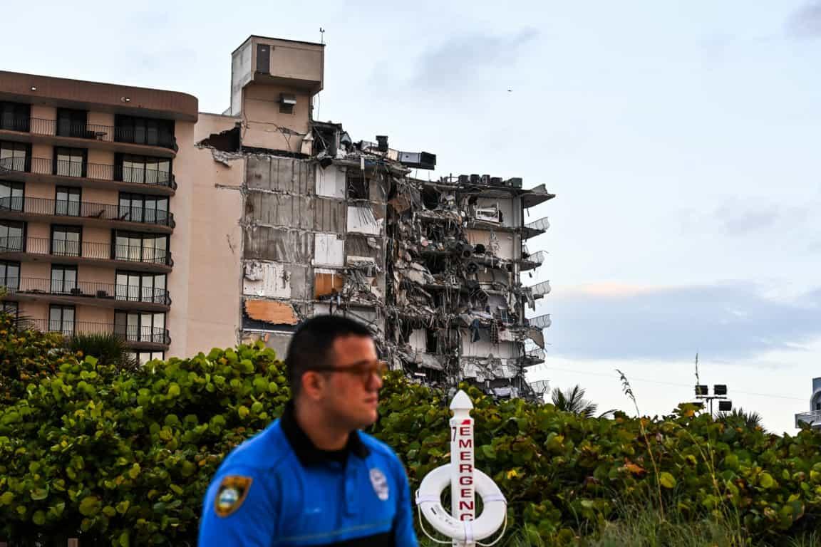 Edificio derrumbe Miami