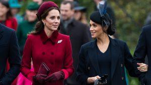 Kate Middleton Felicitó A Meghan