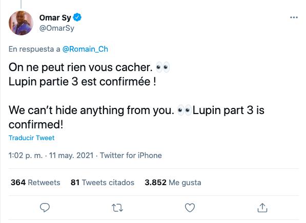 Lupin Twittter