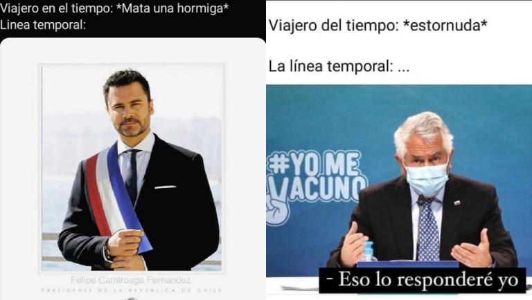 Meme Del Viajero En El Tiempo