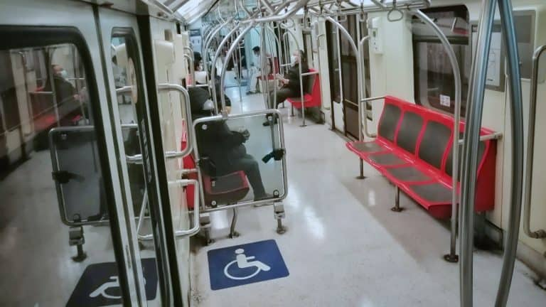 Metro Servicio Interrumpido