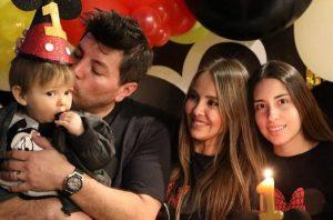 Paloma Aliaga Celebro Con Todo A Su Hijo Menor